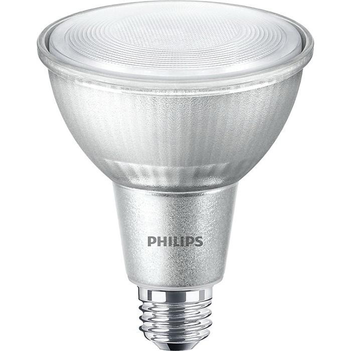 Philips Lighting 531293 Dimmable PAR30 Long Neck AirFlux Technology Single  Optic LED Lamp E26 Single Contact Medium 12-Watt 850-Lumens 80 CRI Bright