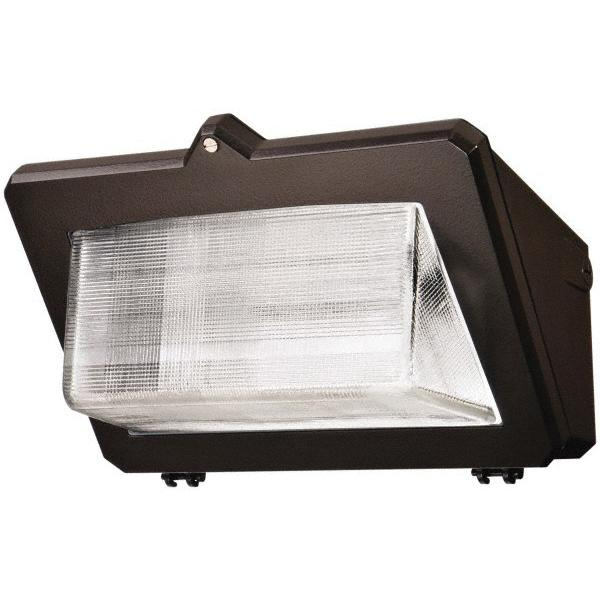 Cooper Lighting LDWP-GL-4A-ED Wallmount Wal-Pak Series Luminaire 40 Watt 120 - 277 Volt TGIC Dark Bronze Polyester Powder Coated Lumark®