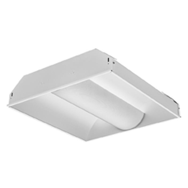 Lithonia Lighting 2AV-G-2-32-MDR-MVOLT-GEB10IS 2-Light Linear Recessed Direct/Indirect Fluorescent Luminaire 32 Watt 120 - 277 Volt Gloss White Enamel Avante®