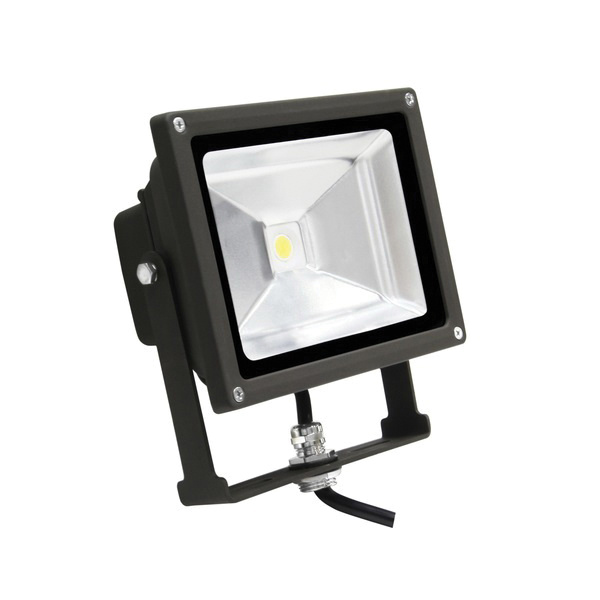 120 Volt Outdoor Led Light: MaxLite 77089 Small LED Flood Light 20-Watt 120