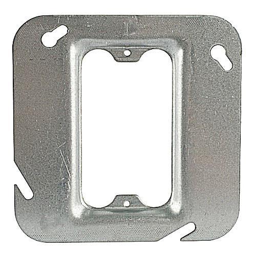 Thomas & Betts 72C62 Pre-Galvanized Steel 1-Gang Single Device Box Cover 4-11/16 Inch x 4-11/16 Inch x 1/4 Inch Steel City®