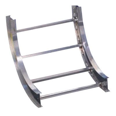 B-Line KS4A09-12-90VO12 Aluminum 90-Degree Vertical Outside Bend 12-Inch x  4-Inch KwikSplice™