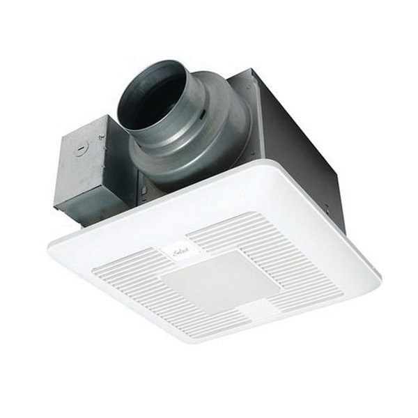 Panasonic Whisperrecessed Led Bathroom Fan With Led Light 80 Cfm: Panasonic FV-0511VKL2 Ventilation Fan With LED Light 120