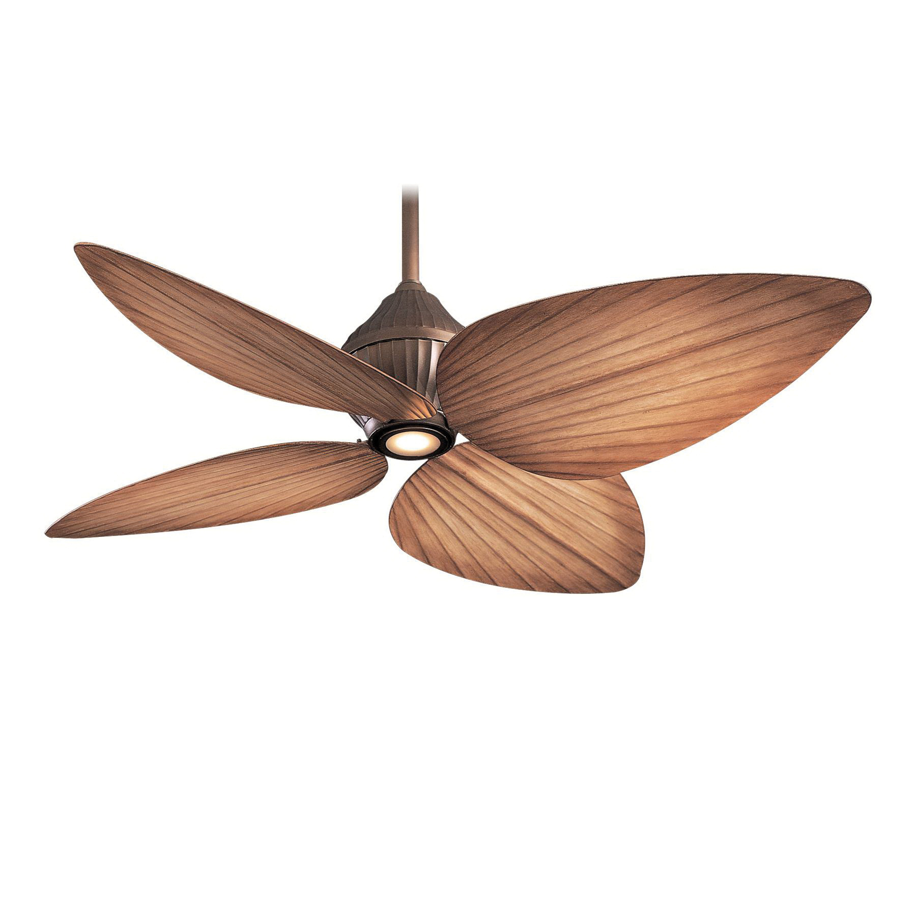 Minka-Aire F581-ORB Transitional Ceiling Fan With Light 52 Inch 4 Blade 3 Speed Oil Rubbed Bronze Gauguin™