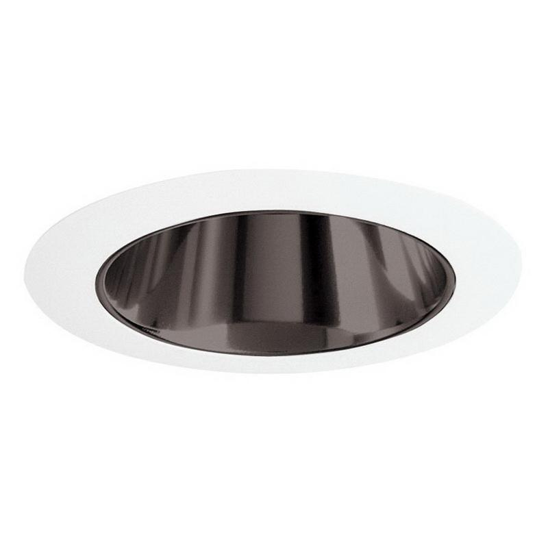 Juno Lighting 447C-WH Low Voltage 4 Inch 447 Series Adjustable Down Light Cone Reflector Trim Round Clear Alzak® White