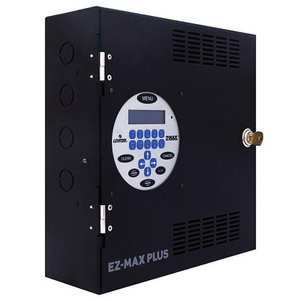 Leviton R08BD-L08 8 Relay Control Panel 120/277/347 Volt Black EZ ...