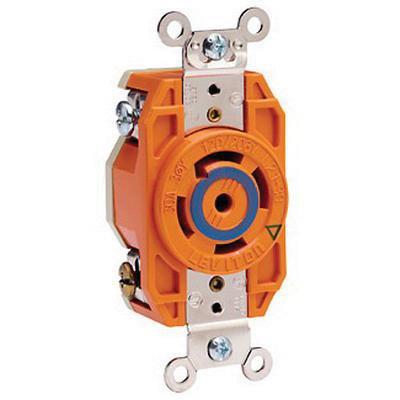 P83869 leviton 2810 ig industrial grade flush mount impact resistant