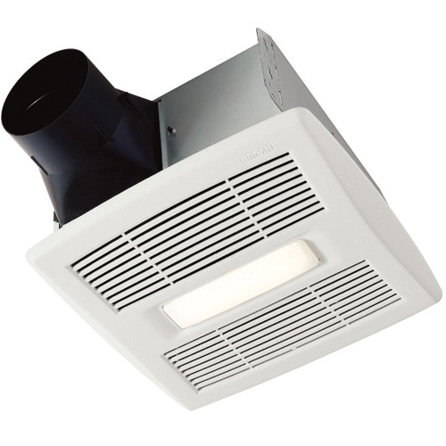 Nutone Ae50110dcl Bathroom Exhaust Fan With Led Light 4 Inch Duct 120 Volt 50 80 110 Cfm Broan