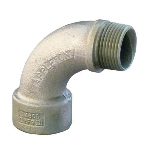 Emerson 9-75 Malleable Iron 90 Degree Insulated Bushed Elbow 3/4 Inch OZ Gedney