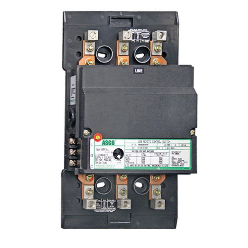 Emerson 920310030 110 - 120 Volt 100 Amp 3-Pole Electrically Held Remote Control Switch