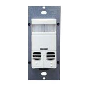 Leviton OSSMD-MDW Commercial Grade Multi-Technology PIR/Ultrasonic Occupancy Sensor 2400 Sq-ft 120 - 277 Volt AC White