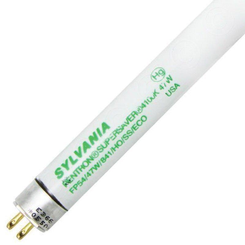 osram sylvania 20447 t5 high output fluorescent lamp 47 watt 2 pin