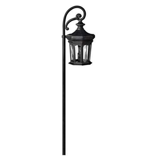 Hinkley Lighting 1513MB 1-Light Post Mount Path Lighting 18 Watt 12 Volt Museum Black RALEY™