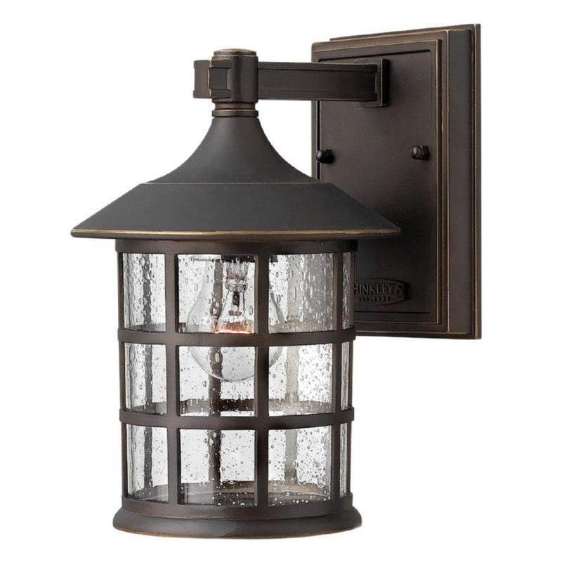 Hinkley Lighting 1800OZ 1-Light Outdoor Wall Lantern 75 Watt 120 Volt Oil Rubbed Bronze Freeport™