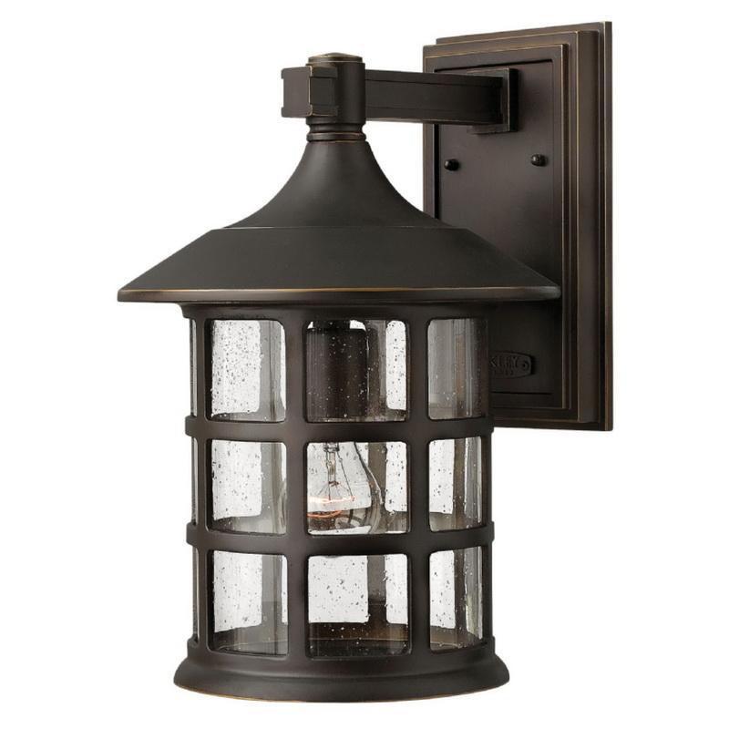 Hinkley Lighting 1805OZ 1-Light Outdoor Wall Lantern 100 Watt 120 Volt Oil Rubbed Bronze Freeport™