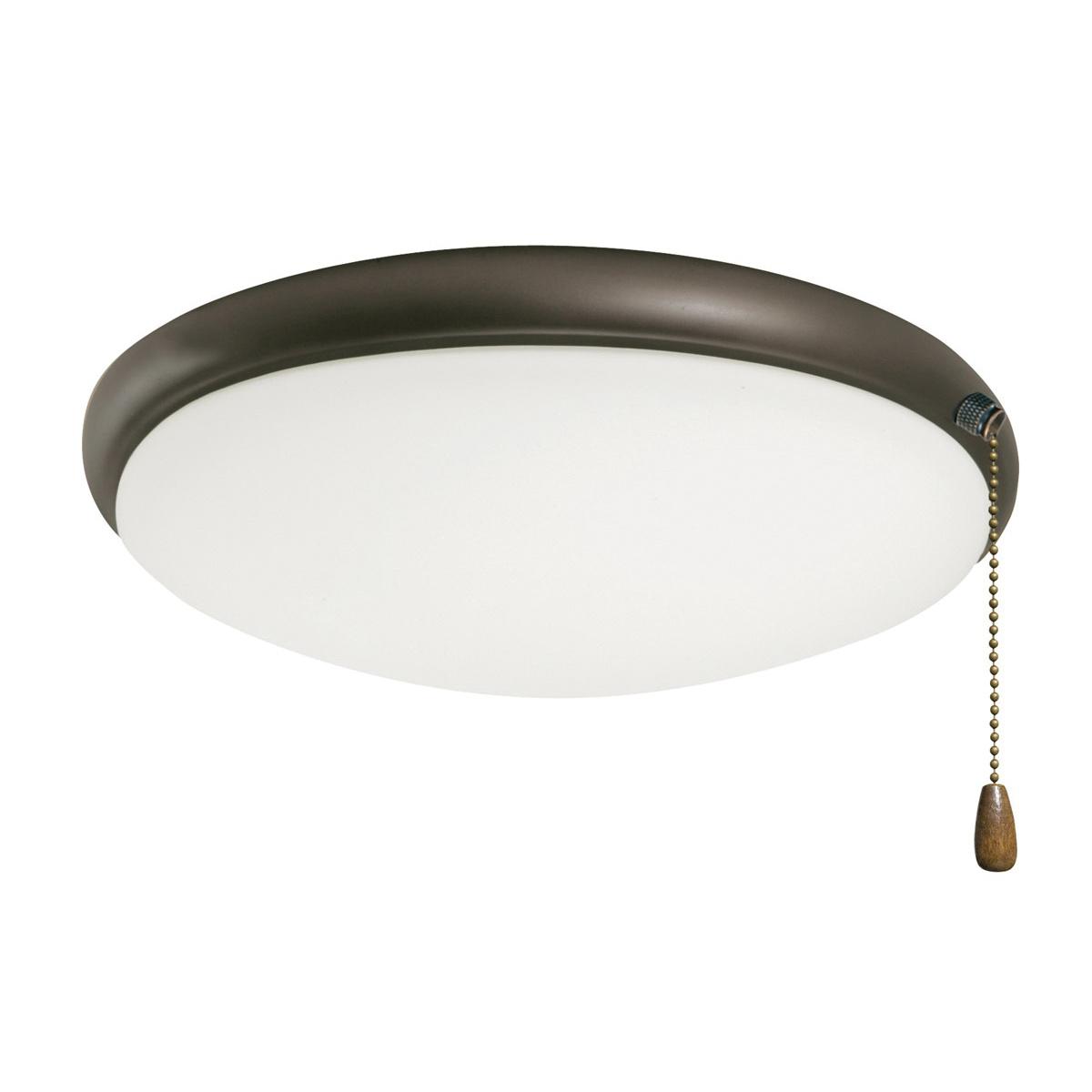 Emerson LK65ORB Low Profile Ceiling Fan Light Kit 2-Light 60 Watt Oil Rubbed Bronze Moon Light