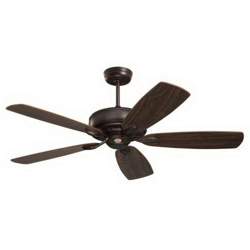 Emerson CF901ORB Prima Ceiling Fan With Light 52 Inch 5 Blade 4 Speed Oil Rubbed Bronze