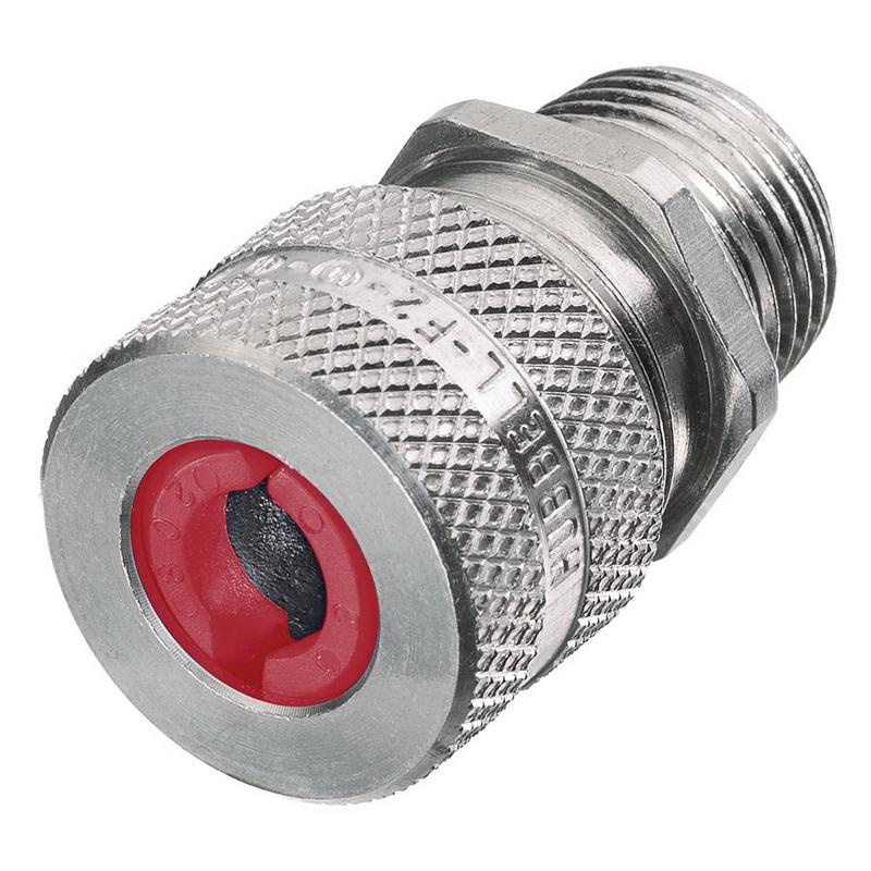 Hubbell-Wiring SHC1021 Aluminum Form F2 Cord Connector 1/2 Inch 0.19 - 0.25 Inch Kellems®
