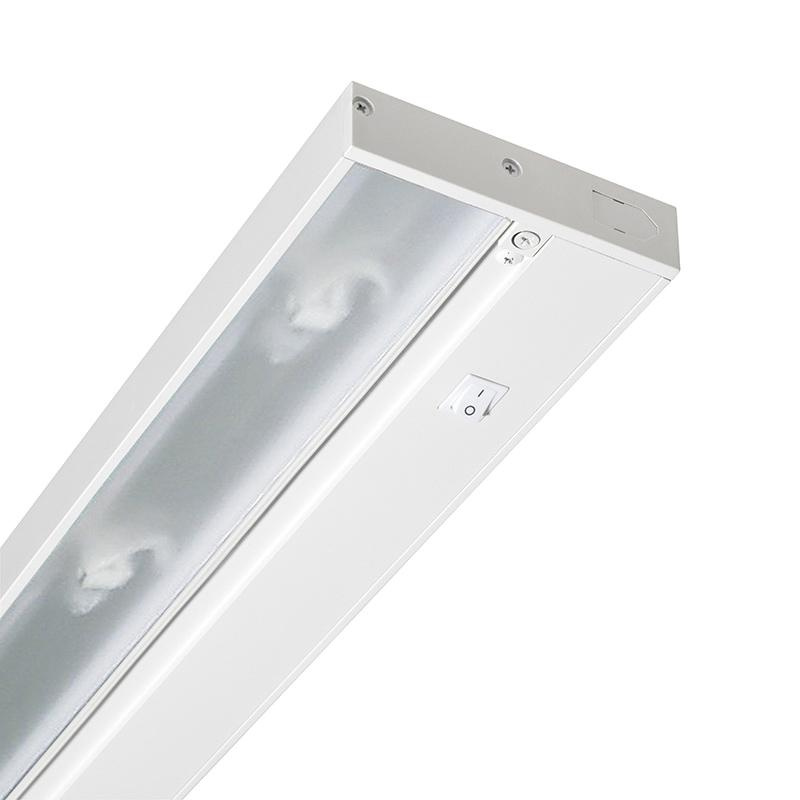 Ordinaire Juno Lighting UPX214 WH 2 Light Pro Series Under Cabinet Light Fixture 20  Watt