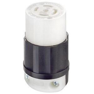P9128 leviton 2813 5 wire 4 pole industrial grade locking connector 120