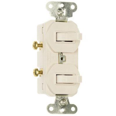 Pass Seymour 696LA 120277 Volt AC 15 Amp 1Pole 3WayToggle 3