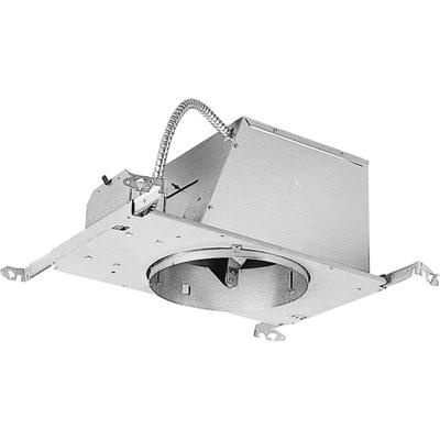 Progress Lighting P45 At Ic Air 8 Inch Round Recessed 45 Degree Slope Ceiling Housing 1 Light