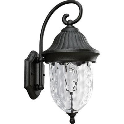 Progress Lighting P5828-31 1-Light Wall Lantern 100 Watt 120 Volt Textured Black Powder Coated Coventry
