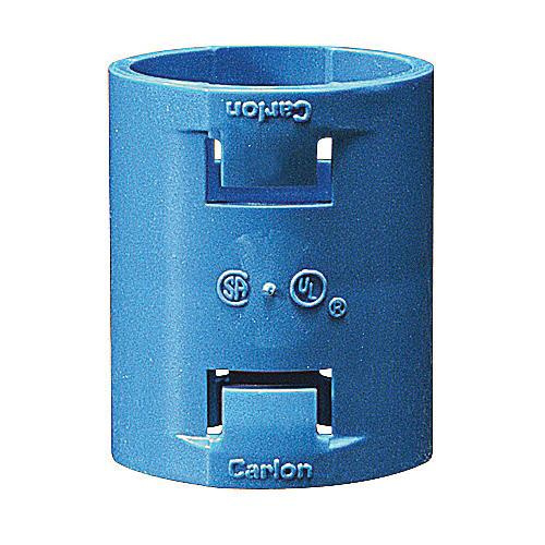 Thomas & Betts A240D Polycarbonate Blue Quick Connect Non-Metallic Coupling 1/2 Inch Carlon®