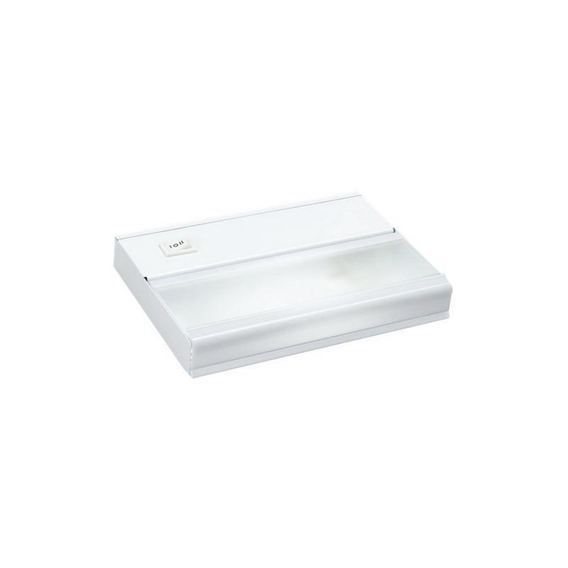 Kichler 10579WH 1-Light Task Work Direct Wire Undercabinet Light Fixture 18 Watt 12 Volt 2700K White
