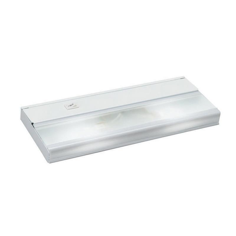 Kichler 10580WH 2-Light Task Work Direct Wire Undercabinet Light Fixture 18 Watt 12 Volt 2700K White