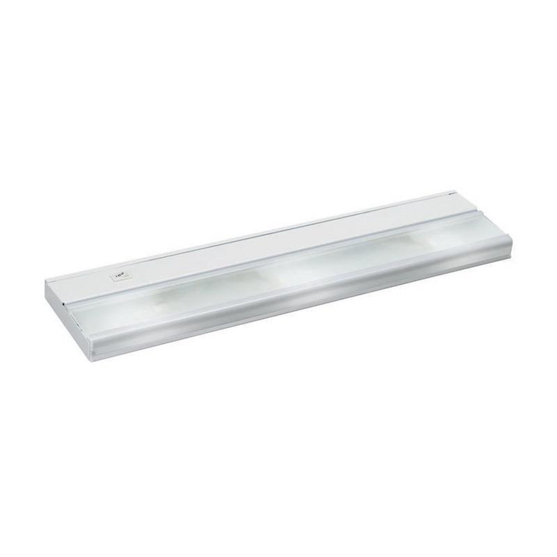 Kichler 10581WH 3-Light Task Work Direct Wire Undercabinet Light Fixture 18 Watt 12 Volt 2700K White