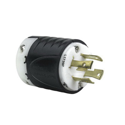 Pass & Seymour L1730-P 4 Wire 3 Pole Industrial/Specification Grade ...