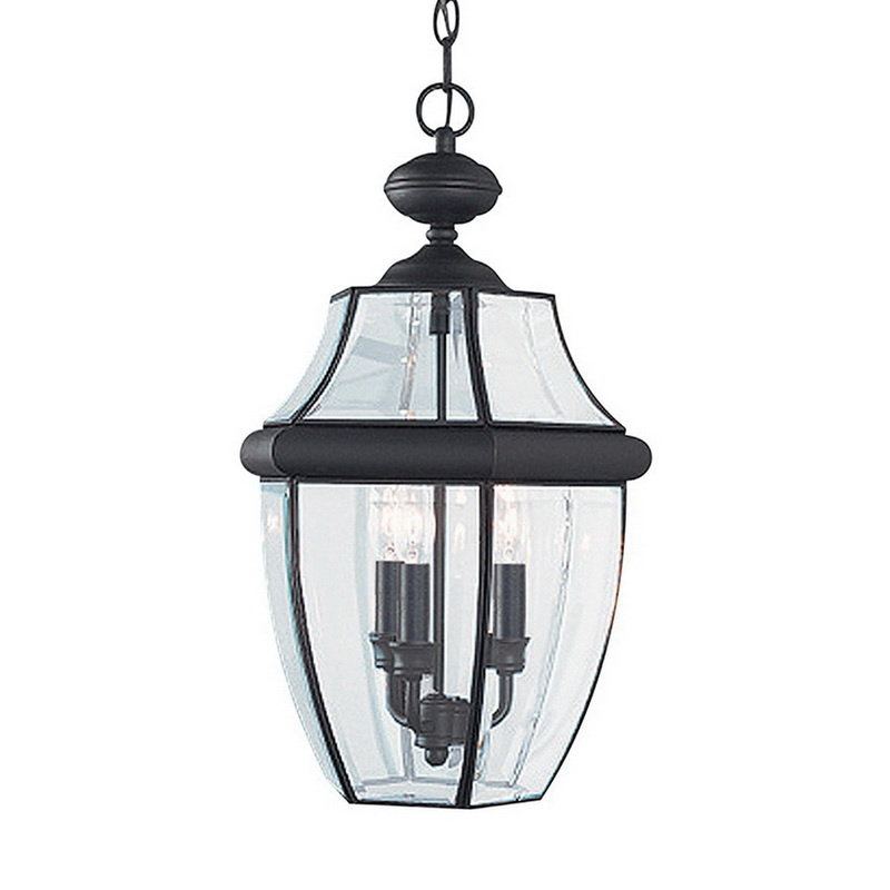 12 Volt Pendant Light Fixtures: Sea Gull Lighting 6039-12 3-Light Pendant Fixture 40-Watt