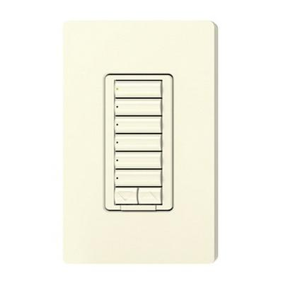 Lutron RRD-W6BRL-LA Wall Box Mount 6 Button With Raise/Lower