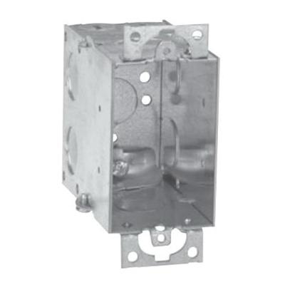 Crouse-Hinds TP238 Steel 1-Gang Gangable Switch Box 2-Inch x 3-Inch x  3-1/2-Inch 18-Cubic-Inch