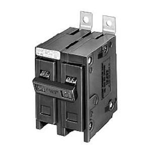Eaton BAB2015 Bolt-On Mount Type BAB Industrial Miniature Circuit Breaker 2-Pole 15 Amp 120/240 Volt AC Quicklag®