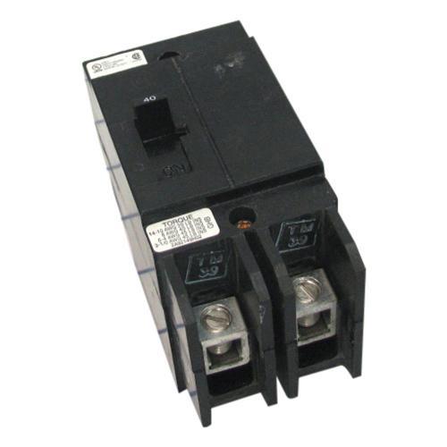 Eaton GHB2040 Bolt-On Mount Type GHB Molded Case Circuit Breaker 2-Pole 40 Amp 277/480 Volt AC 125/250 Volt DC