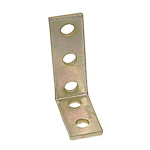 Thomas & Betts B917 Galv-Krom® 1/4 Inch Steel 5 Hole Angle Connector Kindorf®