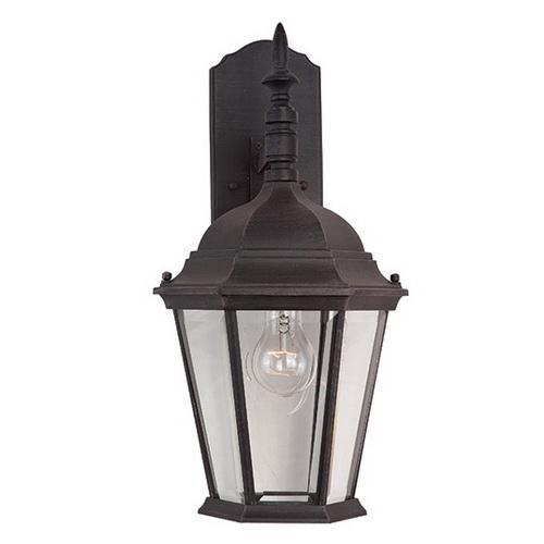 Maxim Lighting 1004RP 1-Light Outdoor Wall Lantern 100 Watt 120 Volt Rust Patina Westlake