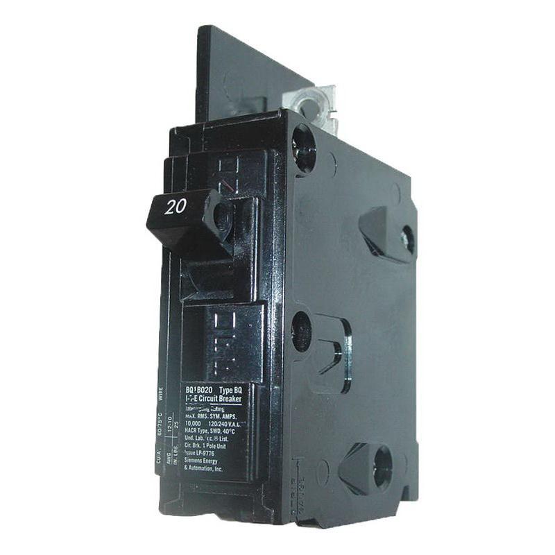 Lot of 10 *FREE SHIPPING* ITE BQ1B020 20 Amp Circuit Breaker Type BQ