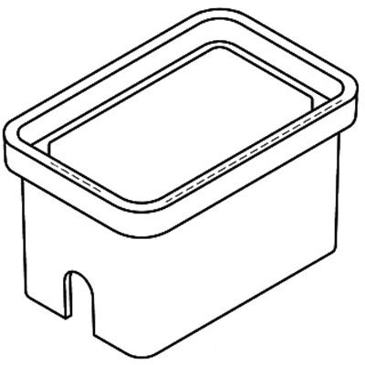 Quazite PG1118BA12 Precast Polymer Concrete Fiberglass Reinforced Straight Underground Concrete Box With Standard Open Bottom 18 Inch x 11 Inch x 12 Inch