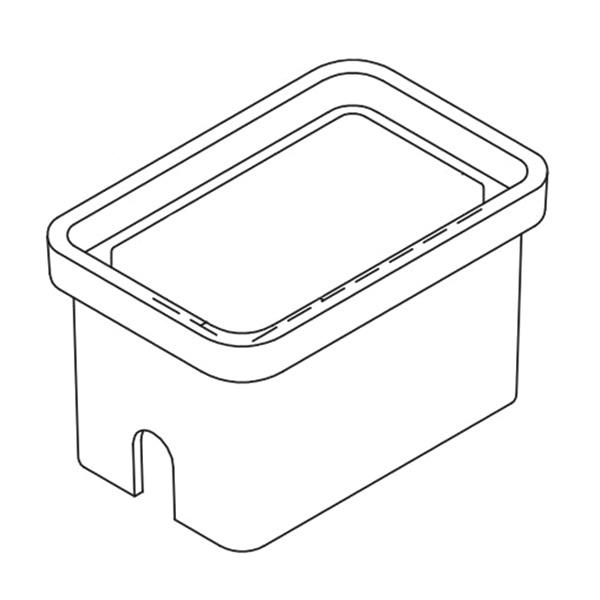 Quazite PG1118BA18 Precast Polymer Concrete Fiberglass Reinforced Straight Underground Concrete Box With Standard Open Bottom 18 Inch x 11 Inch x 18 Inch