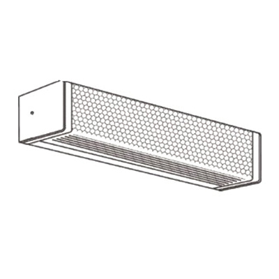 New England Lighting DC240WEBO/UV/EM I48 2 Light Ceiling/Wallmounted