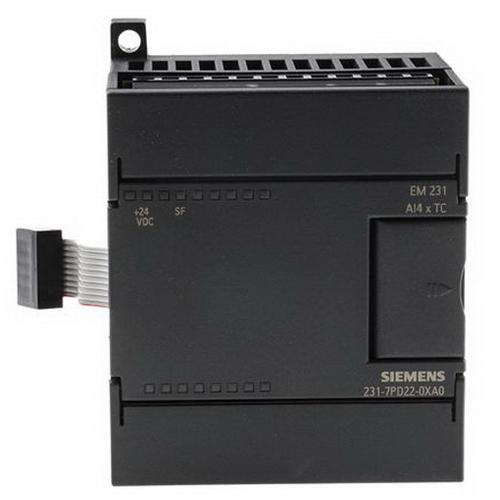 Siemens 6ES72317PD220XA0 Input Module 30 Volt 60 Milli-Amp Without Load 87 Milli-Amp From Backplane Bus 5 Volt DC