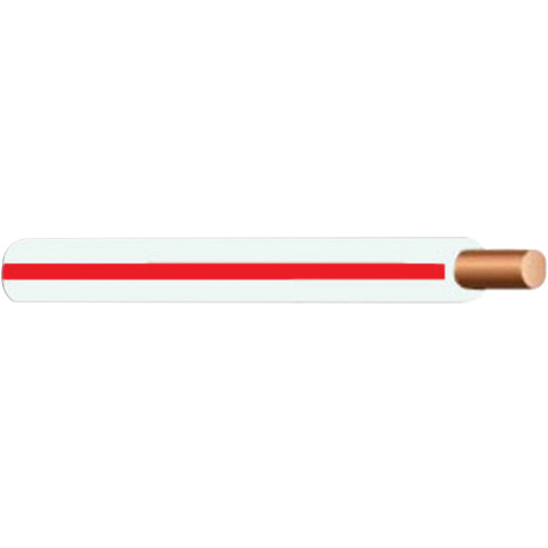 Copper THHN Cable 10 AWG White With Red Stripe - THHN - Aluminum ...