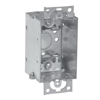 Crouse-Hinds TP170 Steel 1-Gang Gangable Switch Box 2 Inch x 3 Inch ...