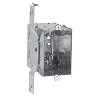Crouse-Hinds TP246 Steel 1-Gang Gangable Switch Box 2-Inch x 3-Inch x  3-1/2-Inch 18-Cubic-Inch