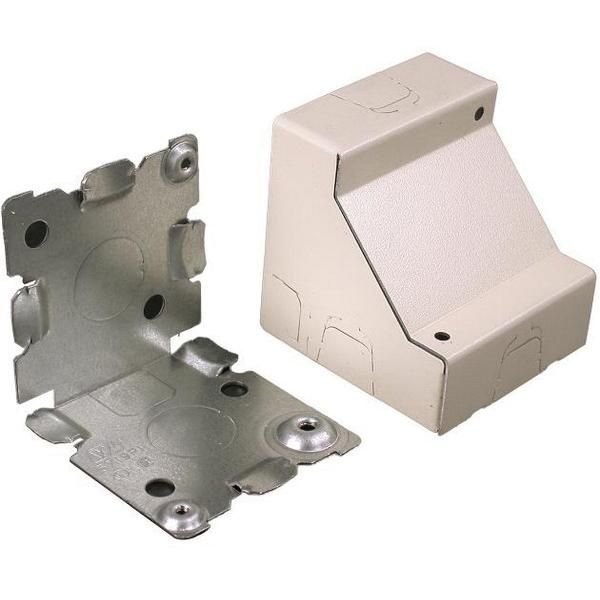 Wiremold V5719 Corner Box Fitting Steel Ivory For Use With 500® and ...