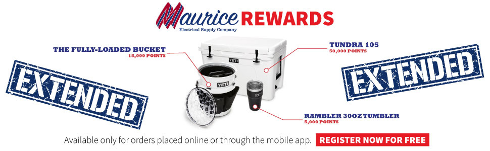 Join the Maurice Electrical Supply Rewards Program