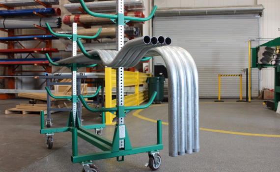 Walters Pipe Bends on cart2
